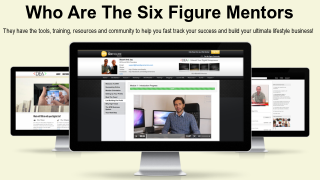 WE ARE THE SIX FIGURE MENTORS